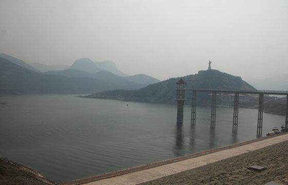小南海水库,位于安阳城西南35公里处安阳县张二庄村东,后驼村南洹河图片